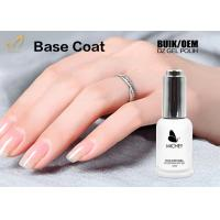 Cheap Odourless UV Base Coat Gel Polish Soak Off European Standard OEM / ODM Service for sale