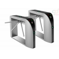 Cheap Fingerprint Security Waist Height Turnstile Attendance Railway Station Barrier for sale