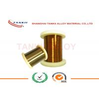 Buy cheap Enamelled Manganin Resistance Wire for Precision Instrument , Enamelled Wire 0.018mm - 3.0mm from wholesalers