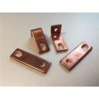 Thick Bended Pure Copper Sheet Metal Bending Dies One Fixed Hole / Adjustable Hole