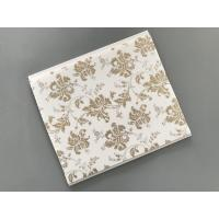 Cheap 10 Inch Gold Leaf Ceiling PVC Panels Easy to Connect For Wall and Ceiling for sale