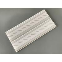 Cheap Green Leaf Kitchen Wall Cladding Panels , Plastic Wall Liner Panels for sale