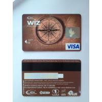 Cheap Prepaid debit card / visa smart card customer design PVC material for sale