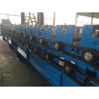 0.3 - 0.8mm  Pre - Cutting Wave Roof Panel Roll Forming Machine High speed