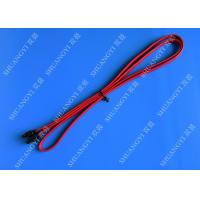 Red SATA 3.0 6gbps Cable Long SATA Cable 7 Pin SATA To SATA For Set Top Box