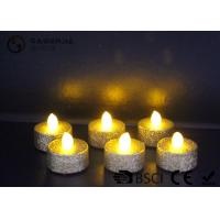 Cheap Indoor / Outdoor Led Tea Light Candles With Dusted  Long Operating Life set of 6 for sale