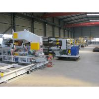 Quality Mitsubishi PLC PU Sandwich Panel Production Line 380V 3 Phase for Cold Storages for sale