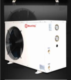 EVI Low Temp Heat Pump , Commercial Heat Pump Side Blowing 380V / 60HZ MD30D