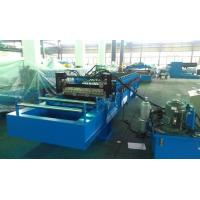 Cheap High Speed 0 - 25m / min Corrugated Roll Forming Machine Fly Cutting No Stop for sale