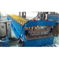 Cheap IBR 686 Roof Profile Roll Forming Machine 0.3mm - 0.8mm Thickness for sale