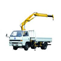 Durable XCMG Knuckle Boom Truck Crane 1400kg Wire Rope Raise