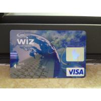 Cheap New VISA Classic Card / Plastic Debit Card with High-tech Printing Quality for sale