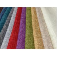 Cheap LINEN COTTON FABRIC INTERWEAVE PLAIN DYED WITH SPANDEX  CWT# 5648 for sale