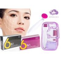 Cheap DRS 6 In1 Micro Disposable CE Approved Derma Roller Kit For Blood Vessels Removal for sale