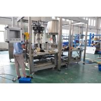 Monoblock Drinking Water Bottle Filling Machine With Suspension Type Air Conveyor
