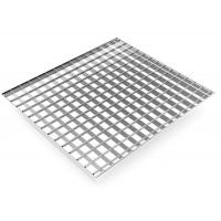 Cheap Square Stainless Steel Bar Grating 19-DTS-4 Dovetail Pressure Locked for sale