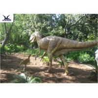Cheap High Simulation Animatronic Giant Dinosaur Statue Water / Corrosion Resistant for sale