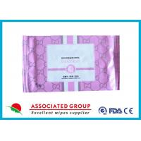 Cheap Disposable Organic Smooth Feminine privateparts Hygiene Wipes With Fresh Scent for sale