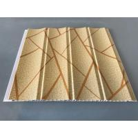Cheap Easy Maintenance Laminated Pvc Wall Panels For Drawing Room 25cm*7.5mm for sale