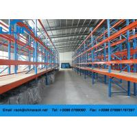 Adjustable Warehouse Metal Heavy Duty Storage Racks with Plywood board