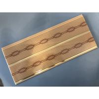 Cheap Timeproof Decorative Bathroom PVC Wall Panels 8 Inch Width 5mm Thick for sale
