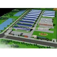 Cheap Multi Storey Prefabricated Steel Warehouse Large Span Building Sound Insulation for sale
