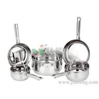 8 PCS STAINLESS STEEL COOKWARE