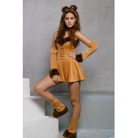 Adult Sexy Cuddly Lion Costume,DL9923