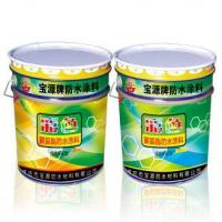 Cheap Colored polyurethane waterproof coating for sale