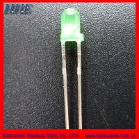 Cheap 3mm round led(3.0*5.3) green color for sale