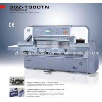 Cheap Paper Cutting Machine (QZYK-137CT) for sale