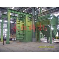 Automatic molding machine Through type abrade cleaning up machine
