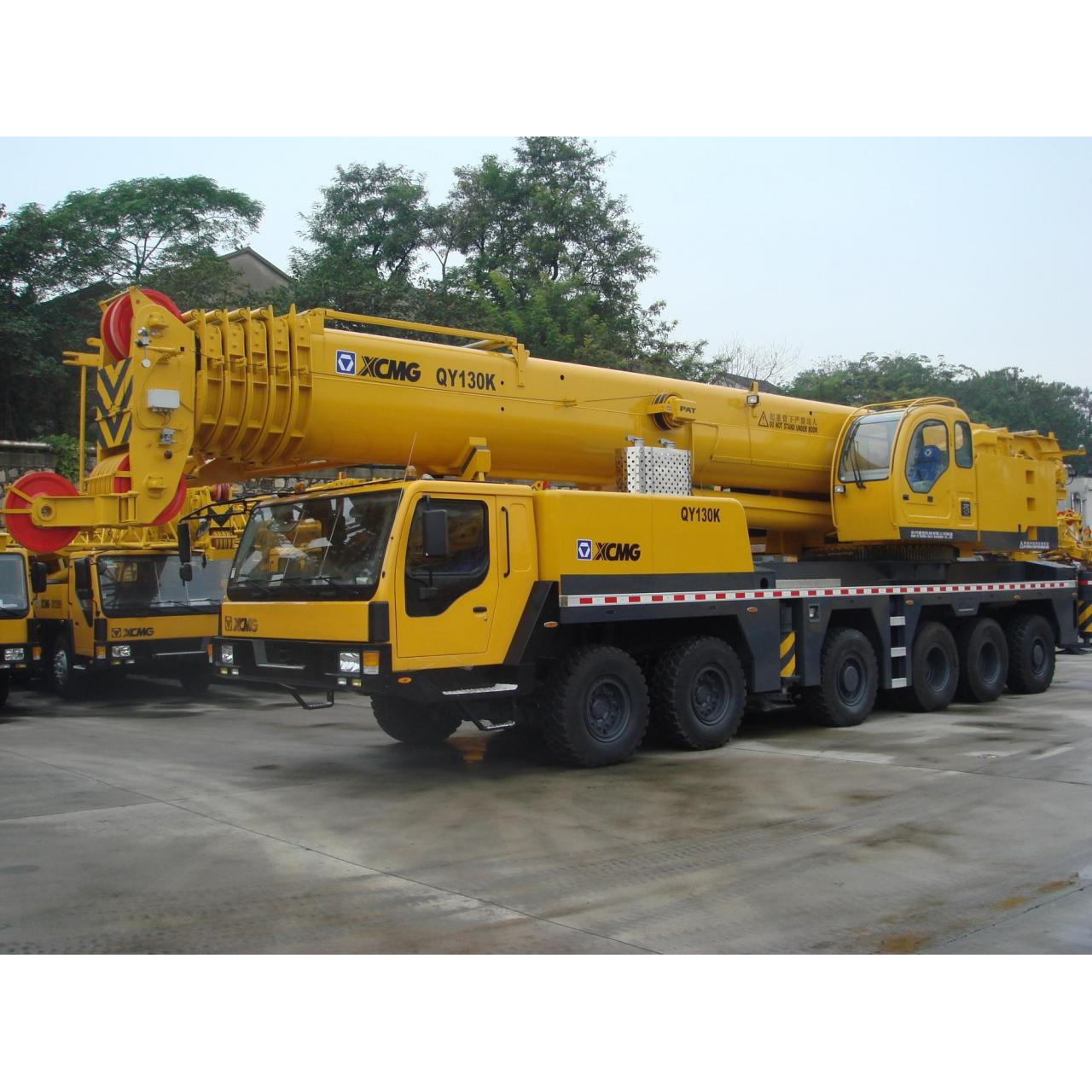 Cheap Truck Crane QY130K for sale