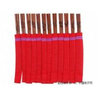 Cheap Iron Wood Carved 12 symbolic animal chopsticks for sale