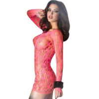Cheap Red hollow out sexy babydolls for womenC346536A US$3.95 for sale