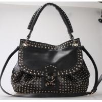 Cheap girls leather backpack bags black for sale