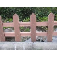 Cheap outdoor wpc fence like real wood for sale