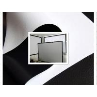 Cheap 300D white projector screen fabric for sale