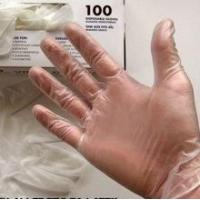 Cheap Medical Disposable Vinyl Gloves Powdered