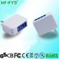 Cheap with folding plug USA JP FY0502000 5V 2A usb power adapter for sale