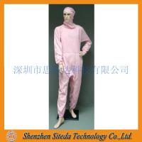 Cheap STD Anti-static crotch Zip Hooded Jumpsuit Welcome to order for sale