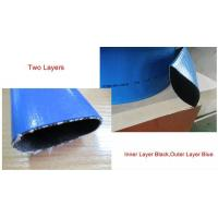 Cheap PVC DOUBLE LAYERS LAYFLAT HOSE for sale