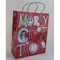 Paper Bags Merry Christmas Gift Paper Tote Bag