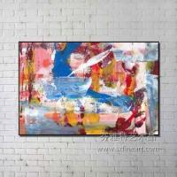 Cheap New Arrival Wholesale Handmade Modern Art Abstract Painting for sale