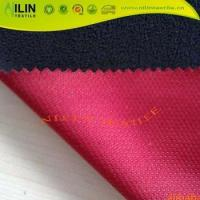 Cheap Mesh bonded fleece Breathable softshell jackets fabric for sale