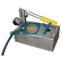 Cheap Laboratory using stainless steel hydro pressure testing pump for sale