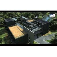 Cheap Solar Panel Prefab Container Homes Fully Finished Movable For Office for sale