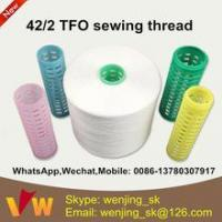 Cheap 42s/2 semi-dull sewing thread manufacturer in indonesia for jeans for sale