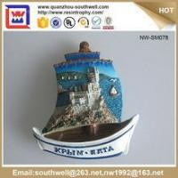 Cheap Popular Stylish Decoration Customized 3D Resin Country Souvenir Fridge Magnets for sale