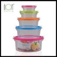 Cheap Round Trasparent Plastic Storage Box for sale
